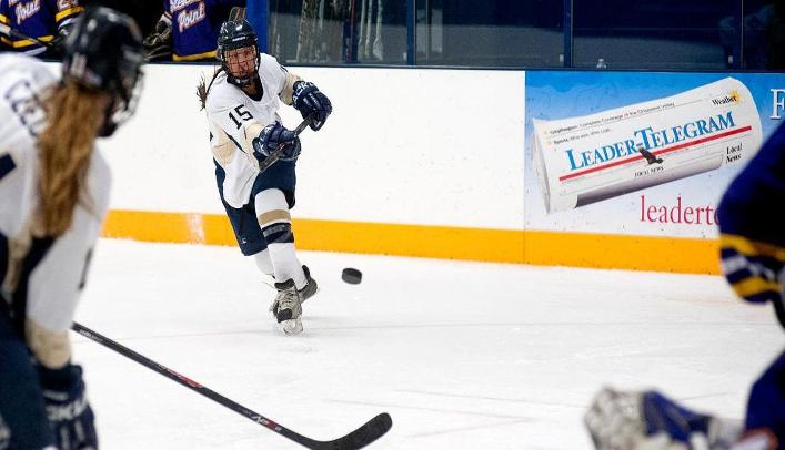 Women's Hockey Narrowly Falls to Ranked Pointers