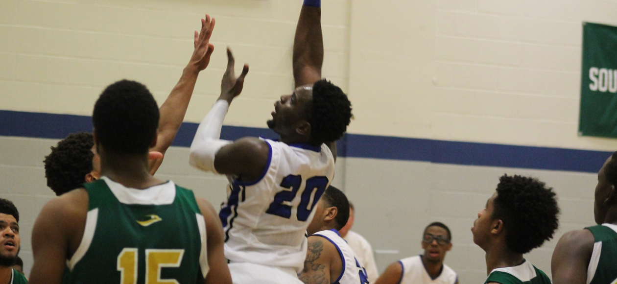 Durodola Shoots Men's Basketball Past Newbury In NECC Opener