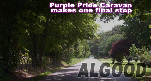 Purple Pride Caravan to make it's final stop in Algood