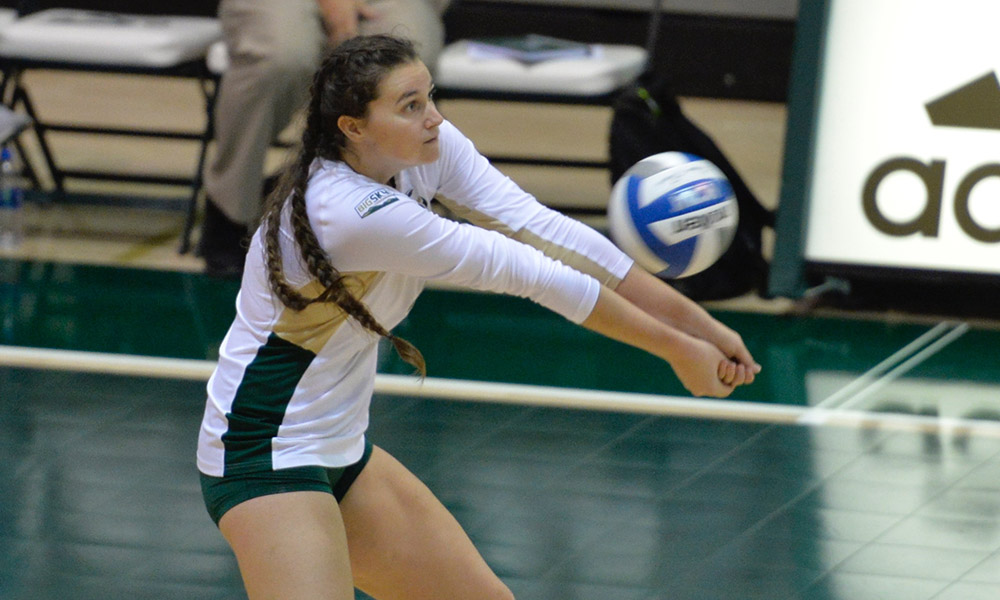 VOLLEYBALL FALLS IN FIVE SETS TO SEATTLE, BUT WINS THE SACRAMENTO STATE INVITATIONAL