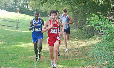 Men's XC Finishes 8th at Landmark Meet