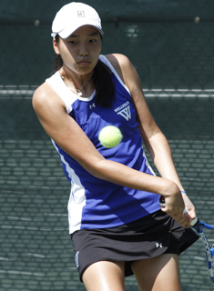 Lee Advances to Round of 16 to Highlight Blue Tennis at ITA's