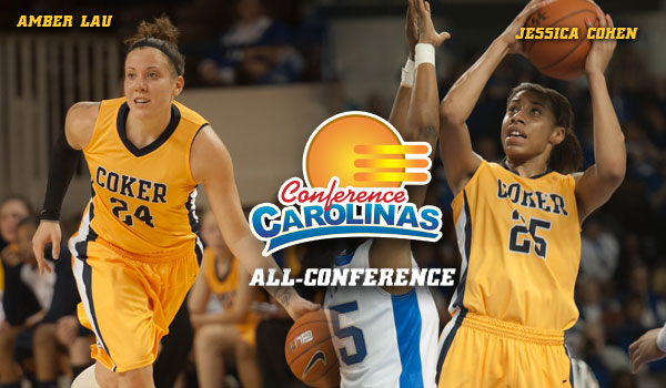 Coker's Lau and Cohen Named All-Conference