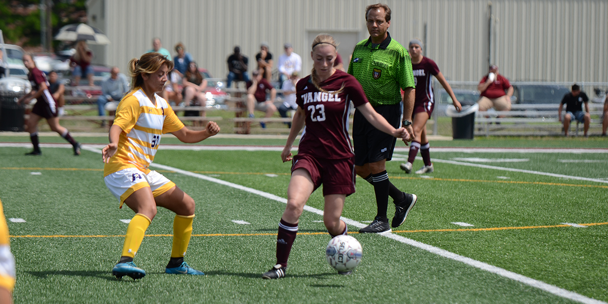 Evangel Women's Soccer and LSU-Alexandria Play to Scoreless Draw