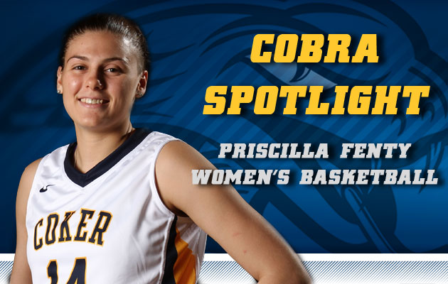 Cobra Spotlight- Priscilla Fenty, Women's Basketball