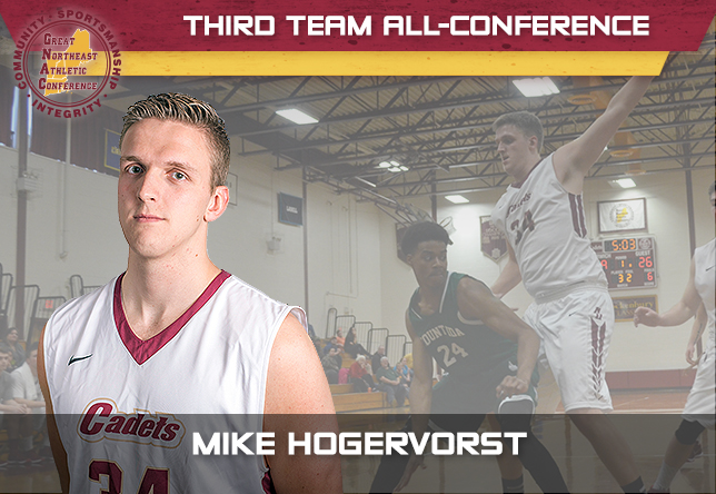 Men's Basketball: Hogervorst Captures Third Team All-Conference