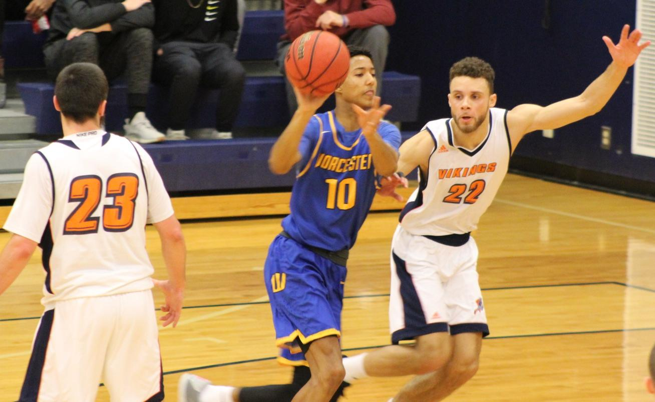 Vikings Open MASCAC Play With 100-82 Win Over Worcester State