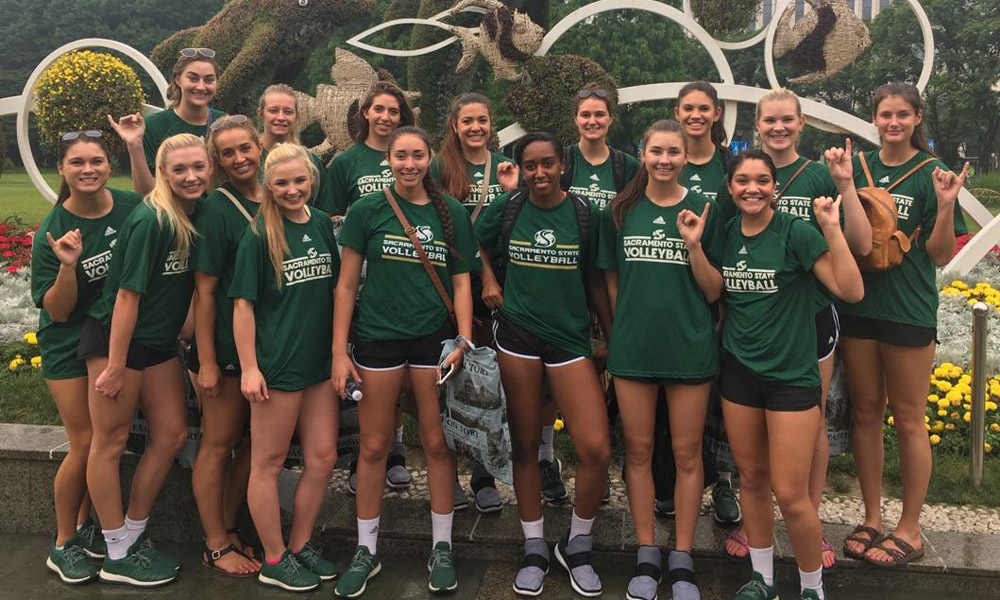 VOLLEYBALL'S TRIP TO CHINA BEGINS, DAY 1 & 2 PLAYER BLOGS