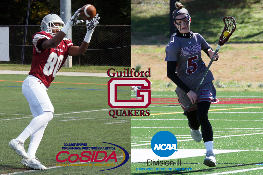 Guilford Pair Earns NCAA Division III's CoSIDA Student Program Grants