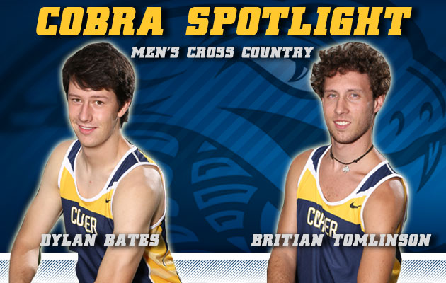 Cobra Spotlight- Dylan Bates & Britian Tomlinson, Men's Cross Country