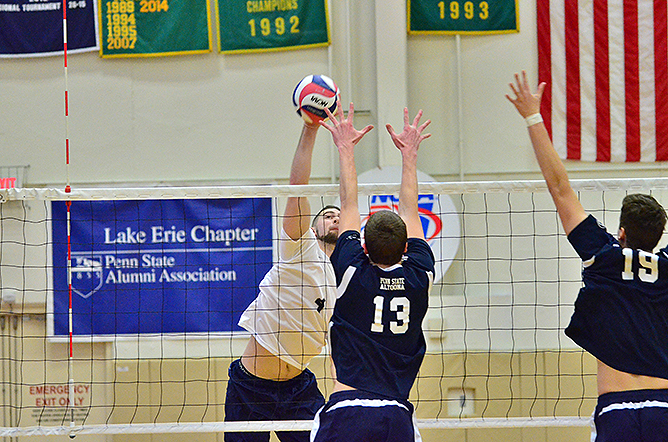 Volleyball Falls Twice at Keuka Tournament