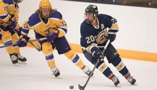No. 8 Men's Hockey finishes weekend out west with 3-3 tie against Sun Devils