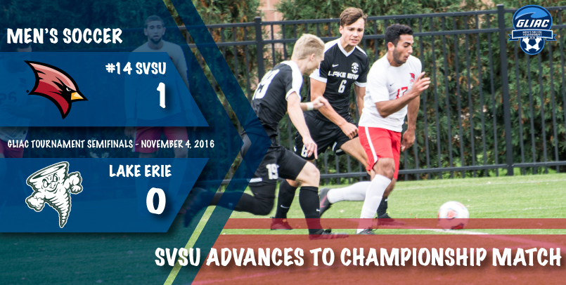 The Cardinals face Tiffin Sunday at noon in the GLIAC Tournament championship match...