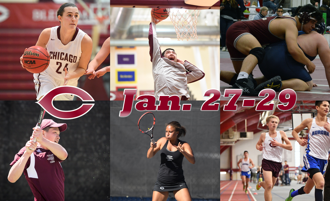 UChicago Athletics Preview: Jan. 27-29