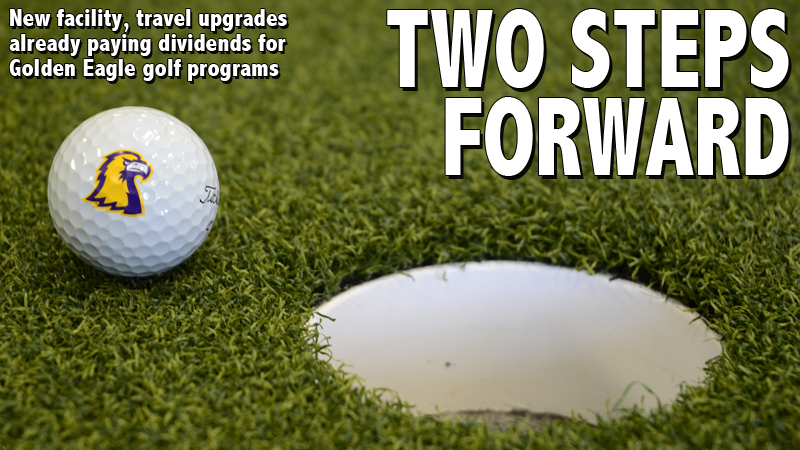 New facility, travel upgrades already paying dividends for Golden Eagle golf programs