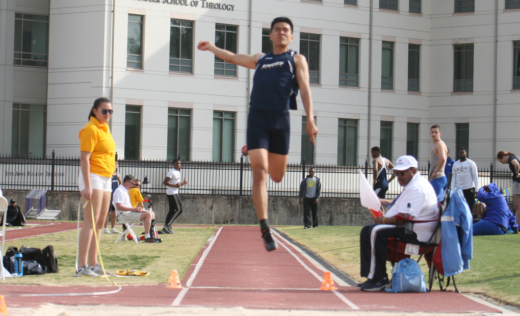 Emory Men's Track & Field Place Fifth at UAA Outdoor Championships