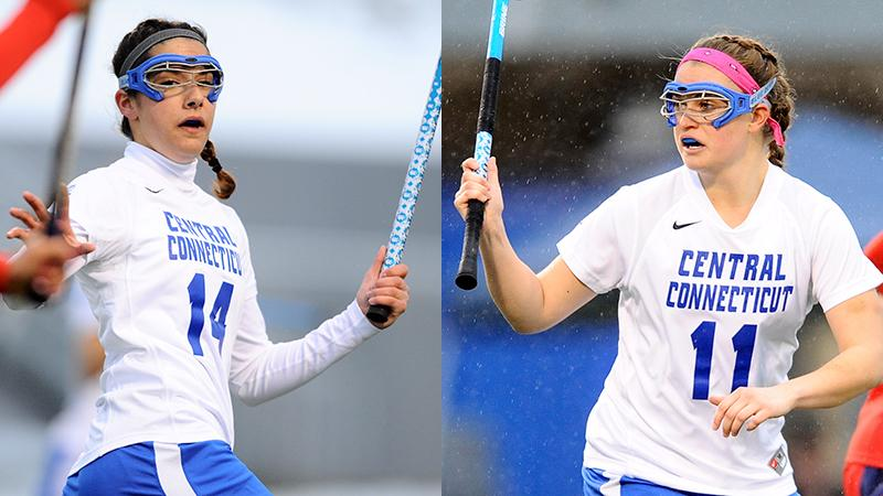 Healy, Toke Named Lacrosse Captains