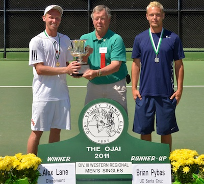 Lane Wins Ojai Singles Title