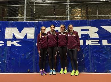 New Records Set at Armory Track Invitational