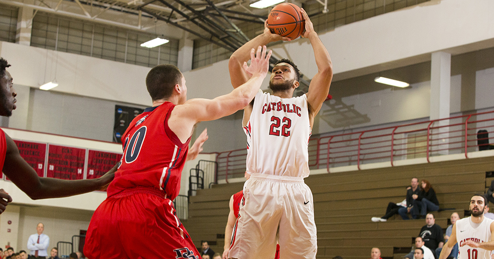 Catholic Men's Basketball Falls to No. 18 Swarthmore