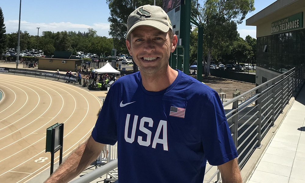 AARON BRAUN TABBED TO RUN FOR USA AT PAN AMERICAN GAMES