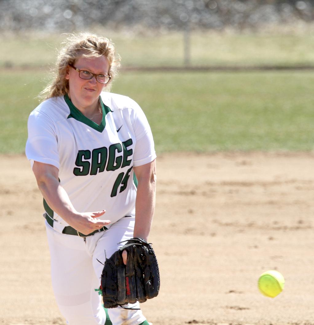 Sage takes a pair from MCLA at Robison Field on Thursday