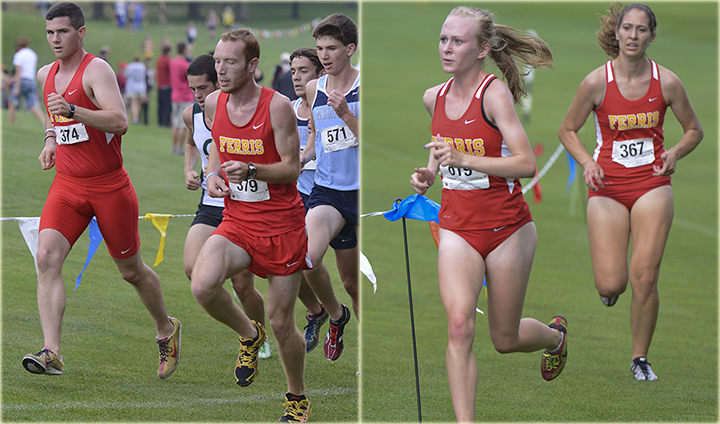 Strong Weekend Showing For Ferris State Cross Country Teams