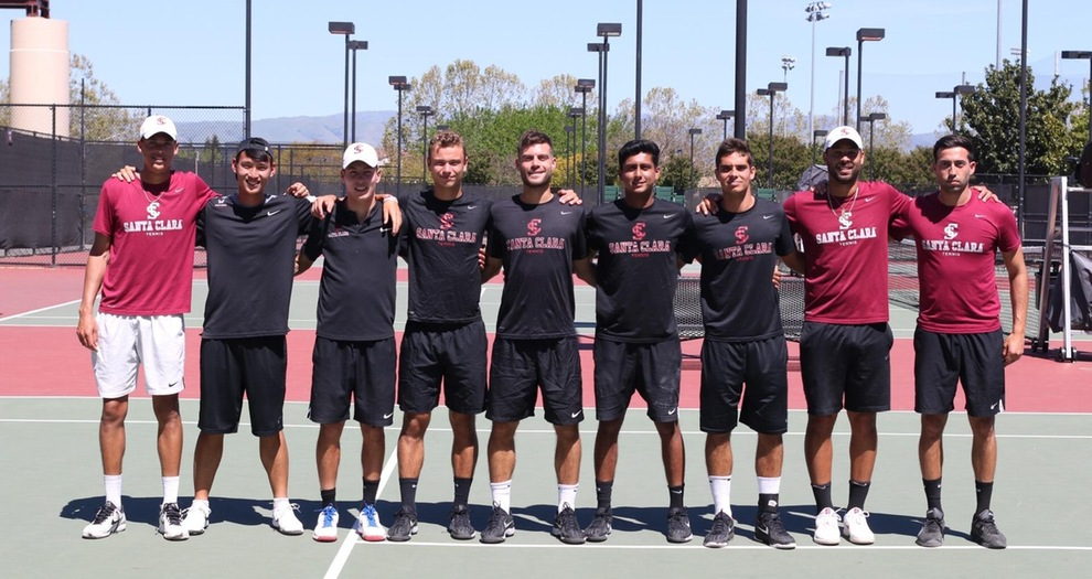 Men's Tennis Faces BYU in Opening Round of WCC Tournament on Thursday