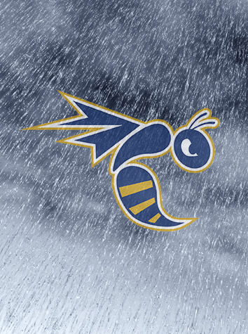 Emory & Henry And Bridgewater Men's Tennis Match Suspended Due To Rain