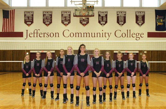 2018 Jefferson Volleyball Team Photo