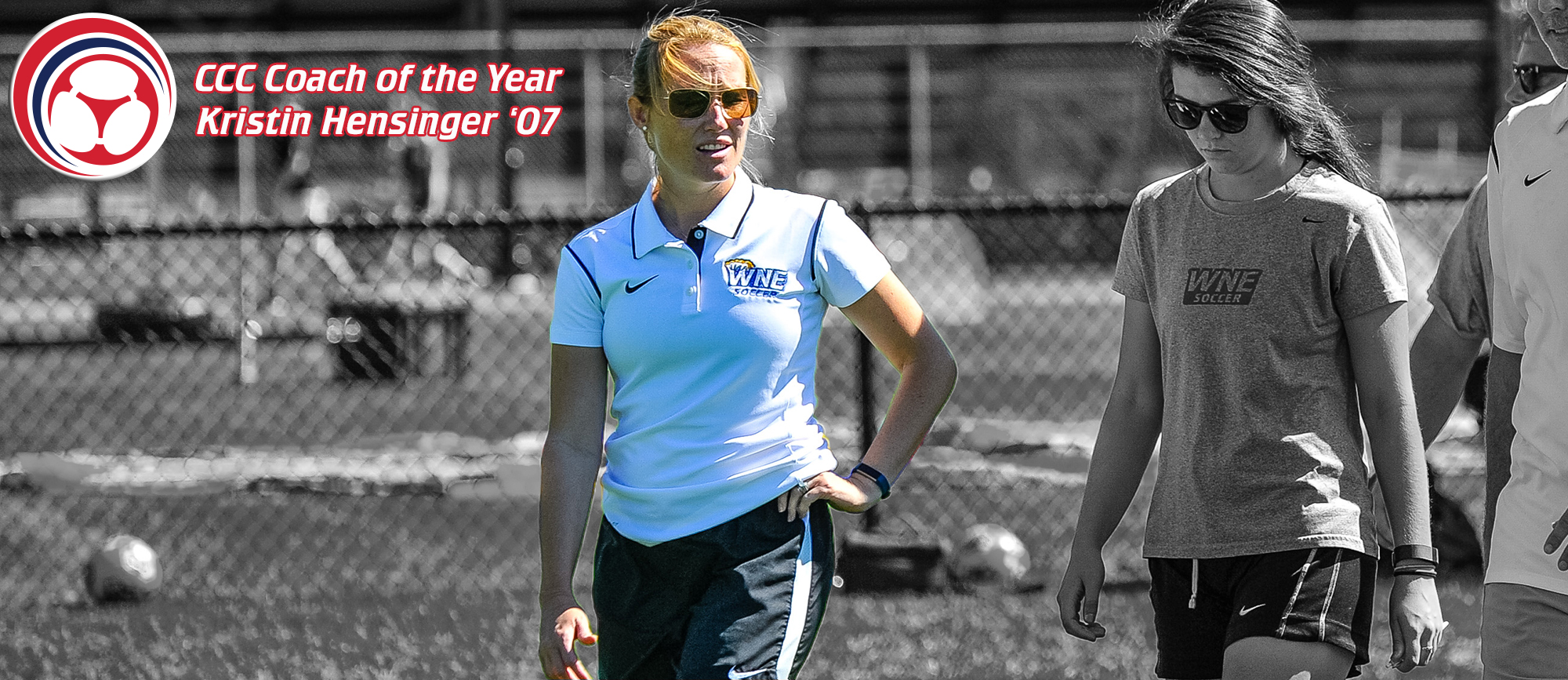 Kristin Hensinger '07 Named CCC Co-Coach of the Year