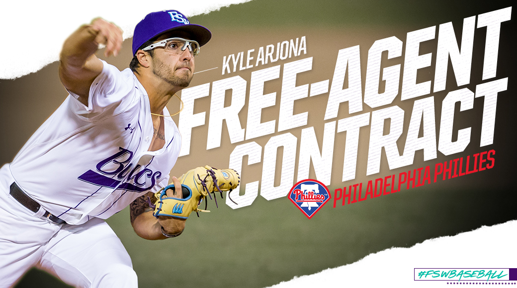 Former #FSWBaseball Pitcher Kyle Arjona Signs MLB Free-Agent Contract
