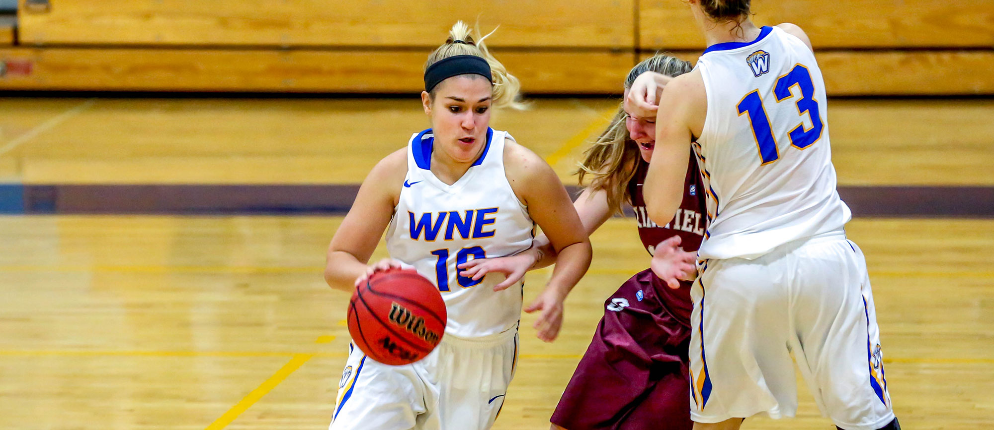 Western New England Opens CCC Play with 57-52 Win at Salve Regina