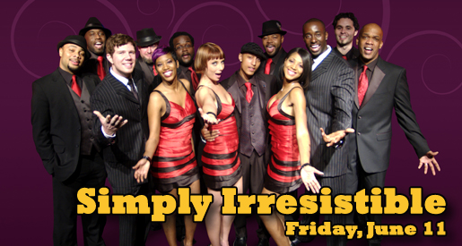 "Friday night Scramble concert to feature high-energy ""Simply Irresistible"""