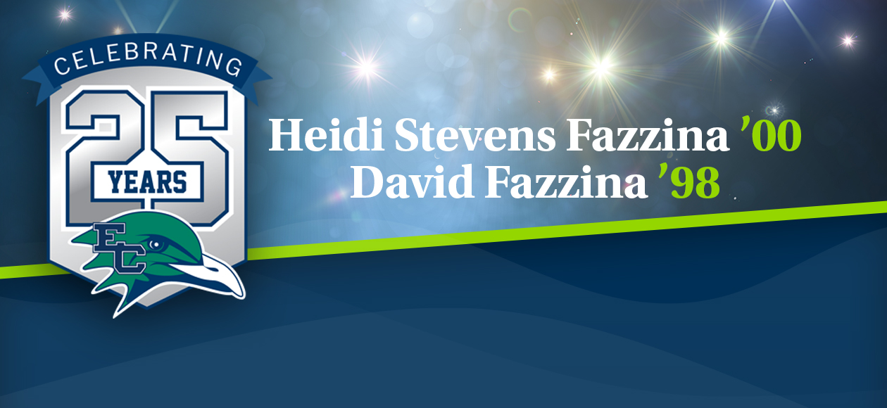 Celebrating 25 Years Of Endicott Athletics | Alumni Spotlight: Heidi Stevens Fazzina '00 & David Fazzina '98
