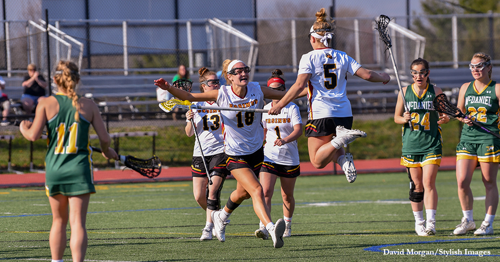 Women's Lax Wins at the Buzzer