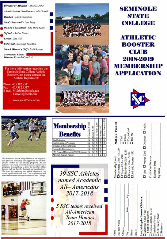 Seminole State Booster Club