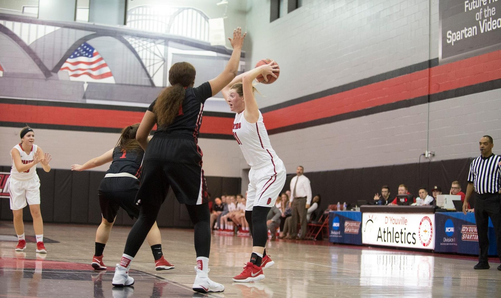 D'Youville Sweeps Season Series over Behrend with Win