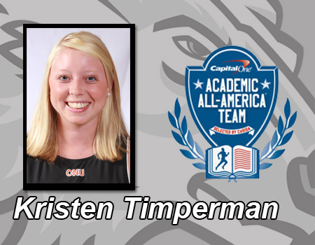 Timperman named Second Team Academic All-America by CoSIDA