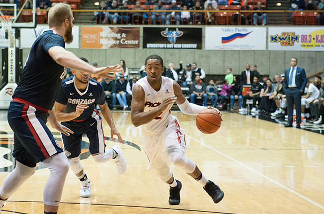 Pacific Falls To No. 6 Gonzaga