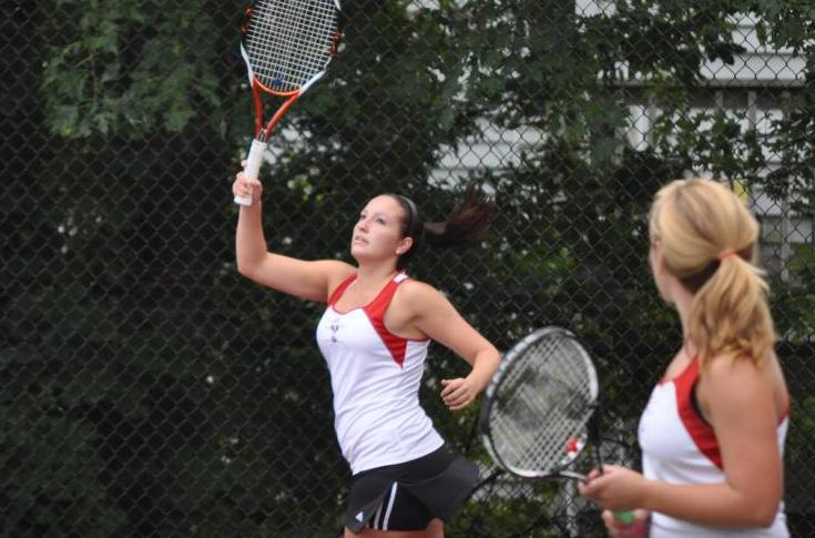 Women's Tennis Swept by Wentworth in Home Opener
