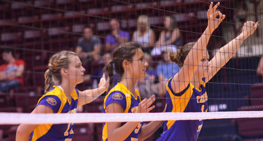 Golden Eagle volleyball team heads north for the Akron Invitational