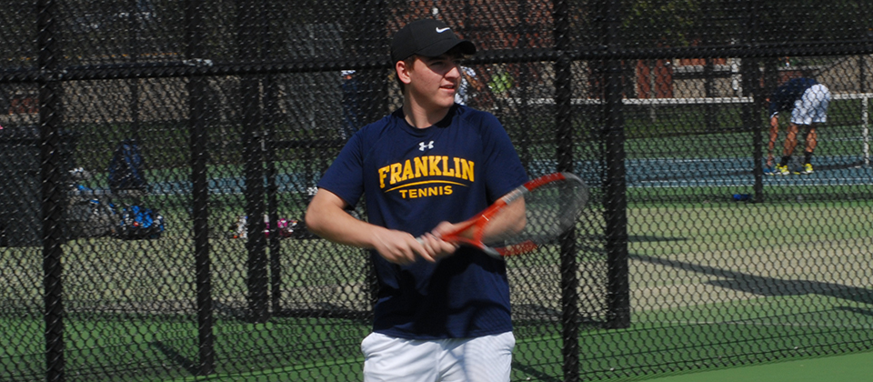 RECAP | Men's Tennis Falls to Trine in First Home Match of 2018