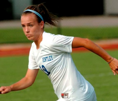 Late Goals by Leary, Skagerlind Help Bentley Rally Past Le Moyne, 2-1