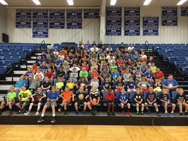 The 2019 Iowa Western Boys' Basketball Camp will be this upcoming June 24th - June 27th in Reiver Arena for boys entering grades 4-8.