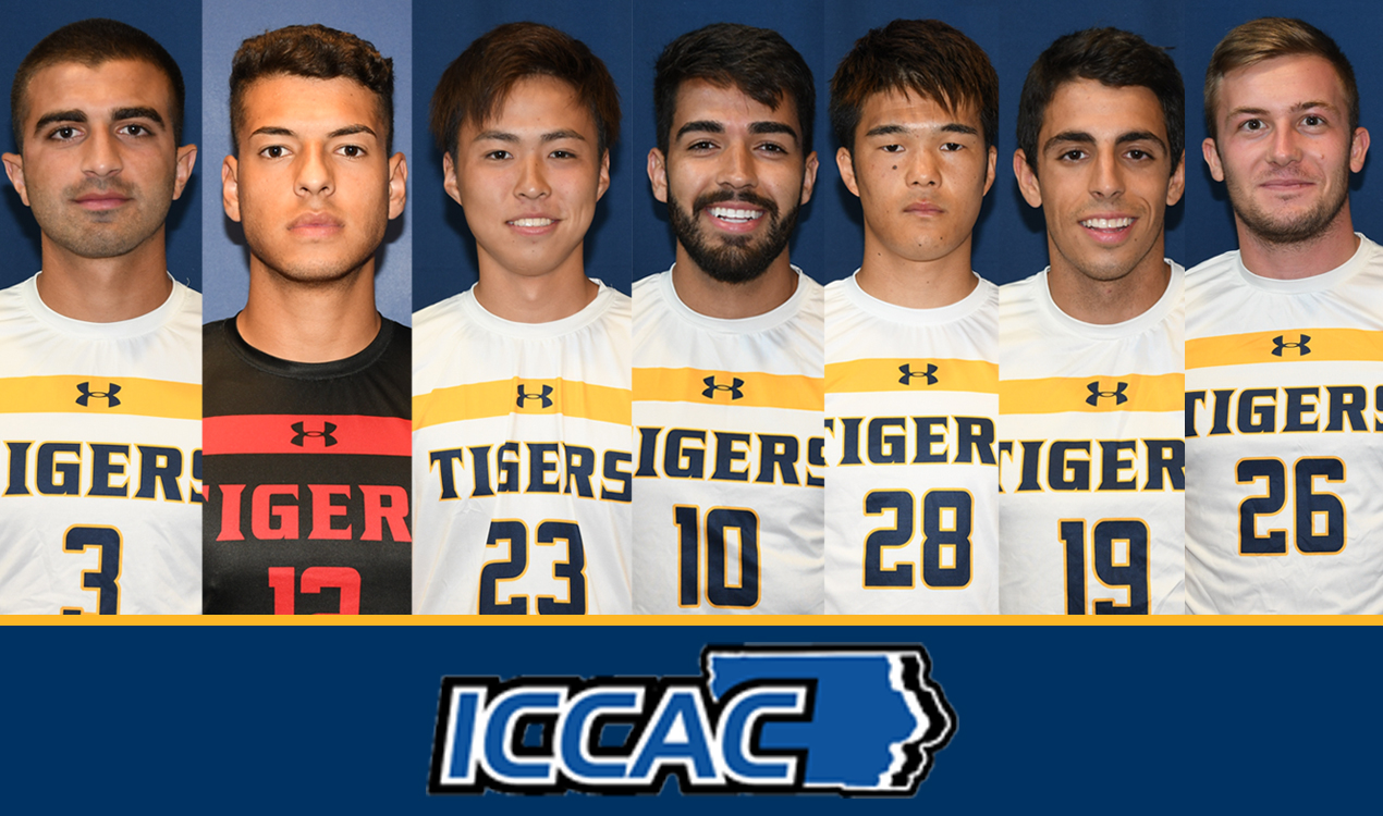 MCC Soccer 2019 ICCAC Honors