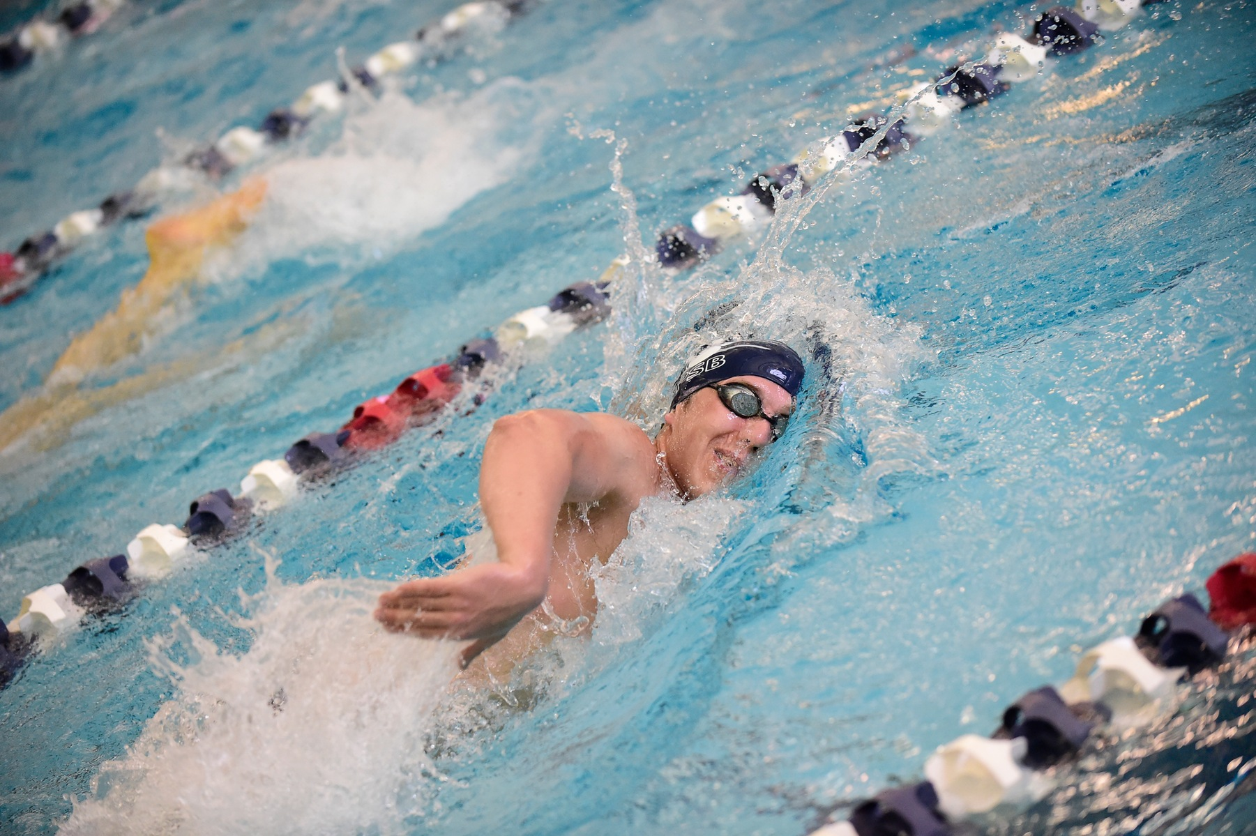 Lions Swim Past Malone For Fifth Straight Win