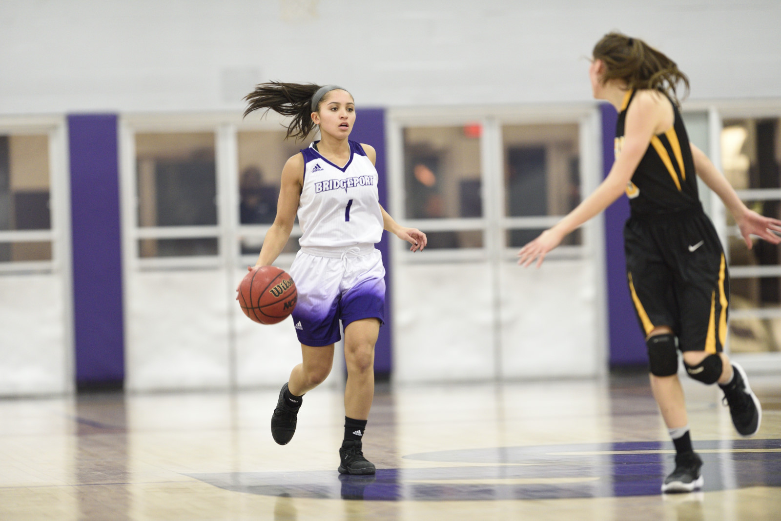 Purple Knights Earn Win Number Two Of Women's Basketball Season Topping Goldey-Beacom, 61-56