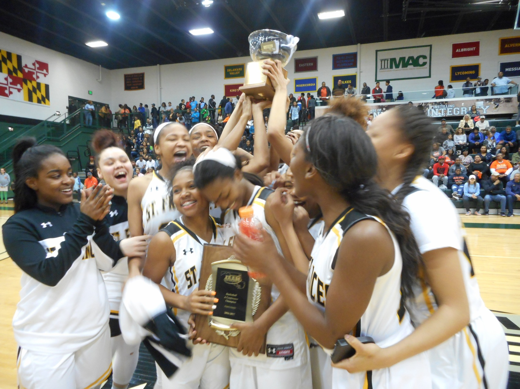 St. Frances prevails at Bishop Walsh basketball tournament again