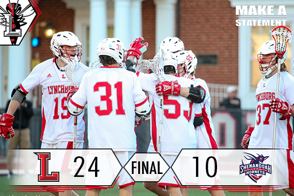 Offensive Showing Guides Men's Lacrosse Over Shenandoah
